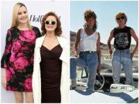 Sarandon Davis Thelma and Louise Golden Globes AP/MGM