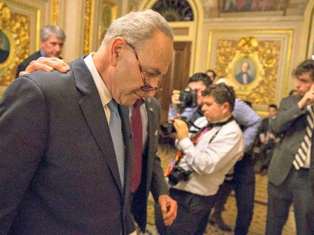 Senate Approves Three-Week Spending Bill After Democrats Cave on 'Schumer Shutdown' | Breitbart