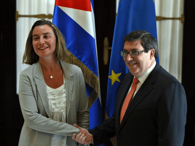 EU High Representative for Foreign Affairs criticized the policies that isolate Cuba