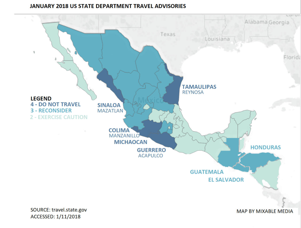 four out of five do not travel states homes to 12 million people rim the eastern pacific ocean on mexicos west coast