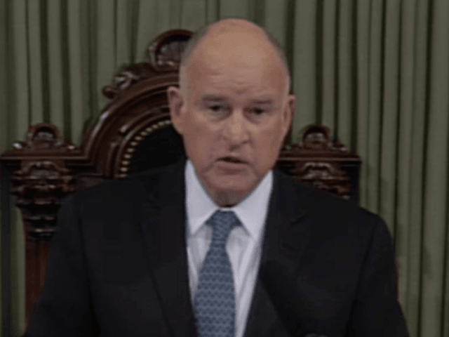 California's Brown lays down markers for his final year as governor