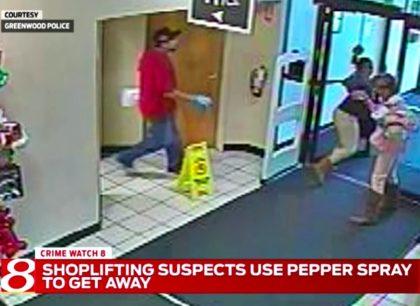 Shoplifters, Pepper Spray