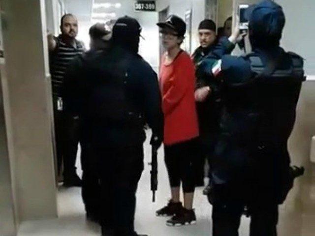 Shotgun at Matamoros Hospital