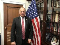 Rep. Steve King in his office, January 2018