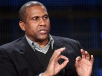 PASADENA, CA - JANUARY 09: Talk show host Tavis Smiley speaks during the 'Tavis Smiley' panel at the PBS portion of the 2011 Winter TCA press tour held at the Langham Hotel on January 9, 2011 in Pasadena, California. (Photo by Frederick M. Brown/Getty Images)
