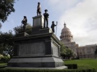 Texas Capitol Confederate Heroes Statue - AP Photo Eric Gay