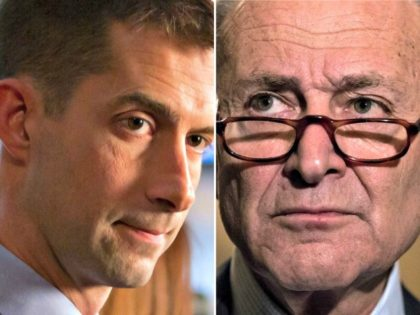 Tom Cotton, Chuck Schumer