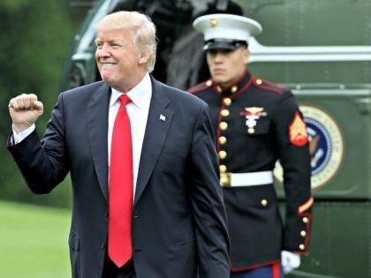 Trump Fist Pump