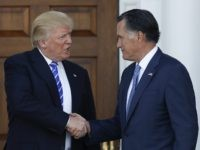 Trump Romney (Carolyn Kaster / Associated Press)