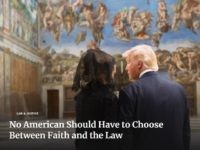 White House Homepage Features First Couple in Sistine Chapel for Religious Freedom Day