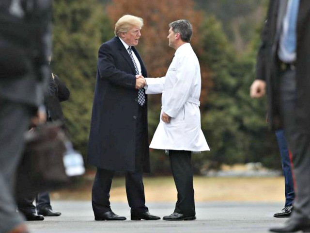 photo image Doctor Gives Donald Trump a Physical: 'The President Is in Excellent Health'