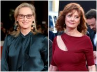 Streep Sarandon Globes Activists Getty