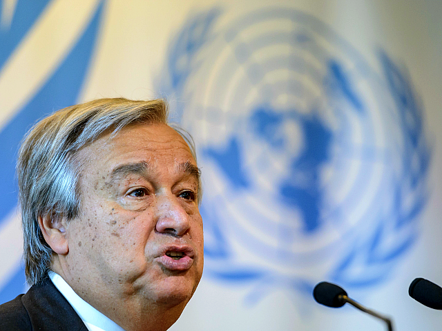 New United Nations Boss Unveils Plan to Promote Global Mass Migration