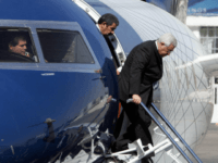 Amman, JORDAN: Palestinian leader Mahmud Abbas gets off the plane as he arrives in Amman 23 September 2006. Abbas, who was also in Cairo earlier today, said dialogue with Hamas on the formation of a national unity government had 'returned to zero' after the Islamist movement refused to recognise Israel. …