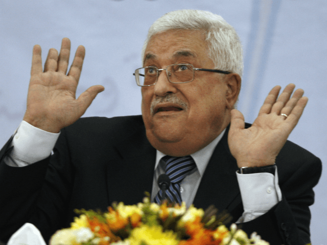 Palestinian President Mahmoud Abbas gestures as he speaks during a meeting of the Central Committee of the Palestine Liberation Organization (PLO), in the West Bank city of Ramallah, Wednesday, July 27, 2011. Abbas said Wednesday he will ask the United Nations to endorse Palestinian independence this fall even if negotiations …