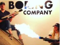 The Boring Company Flame Throwers