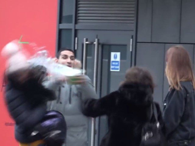 A prank by YouTuber Arya Mosallah has sparked fears of acid attacks in London