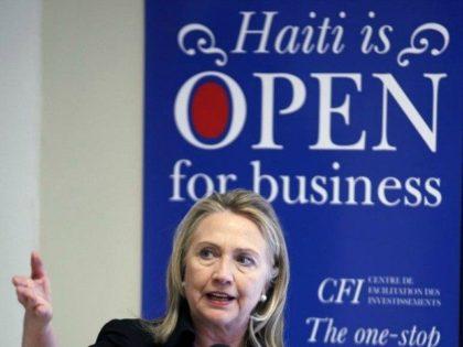 Hillary Clinton Haiti