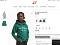 H&M stores across South Africa were shuttered Saturday. Local media reported that destructive protesters had swarmed several locations.