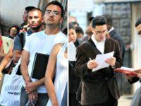 illegal immigrants: U.S. citizens line up