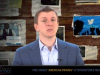 James O'Keefe: Twitter's Censorship Algorithm Targets 'Breitbart Audience'