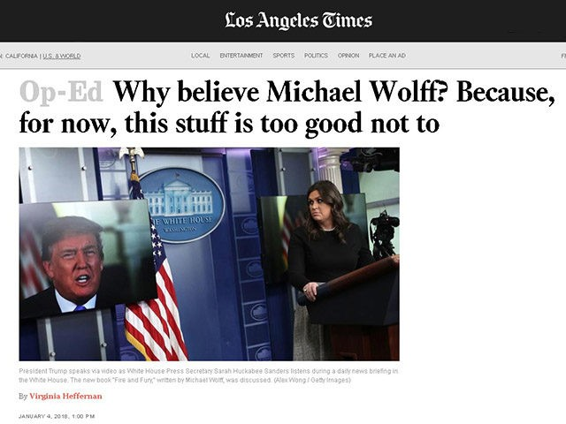 Michael Wolff admits: Not everything in Trump book true