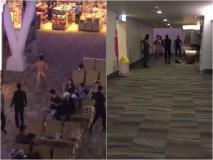 WATCH: Man Allegedly Walks Around Thailand Airport Naked, Throws Feces at Airport Staff