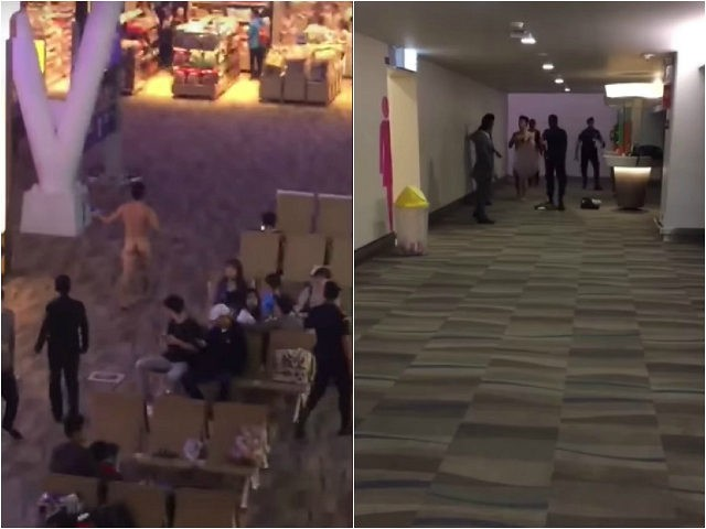 Woman strips off clothes in Miami airport - then is later