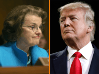 President Donald Trump criticized Sen. Dianne Feinstein for releasing the full transcript of congressional testimony from Fusion GPS co-founder Glenn Simpson.