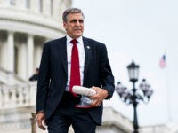 UNITED STATES - MAY 4: Rep. Lou Barletta, R-Pa., walks down the House steps at the Capitol after a series of votes on repeal and replace of Obamacare on Thursday, May 4, 2017. (Photo By Bill Clark/CQ Roll Call)