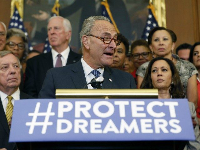 schumer-democrats-protect-dreamers-getty