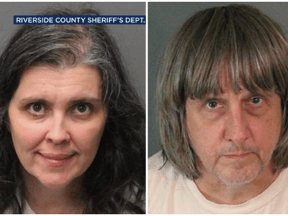 These Sunday, Jan. 14, 2018, photos provided by the Riverside County Sheriff's Department show Louise Anna Turpin, left, and David Allen Turpin. Authorities say an emaciated teenager led deputies to a Perris, Calif., home where her 12 brothers and sisters were locked up in filthy conditions, with some of them …
