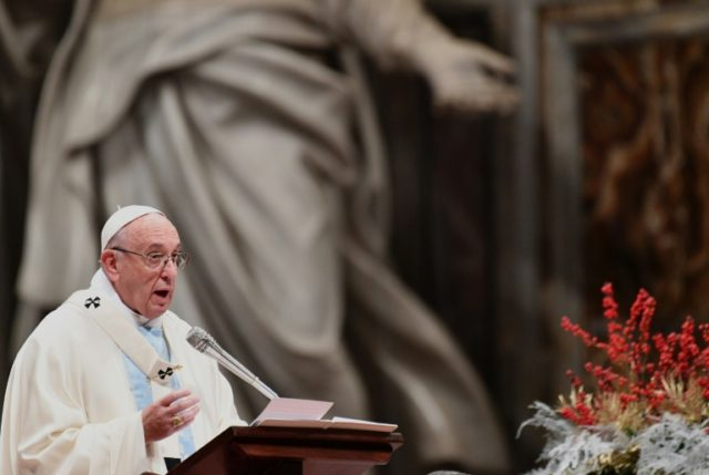Pope Francis urged in his New Year homily that migrants and refugees and their right to a peaceful existence be at the forefront of people's thoughts