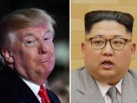 Donald Trump and Kim Jong-Un have exchanged angry insults over the past year
