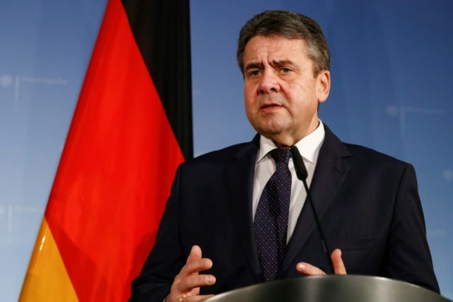 "German Foreign Minister Sigmar Gabriel said Paris and Berlin had ""a joint responsibility to develop all of Europe further"""