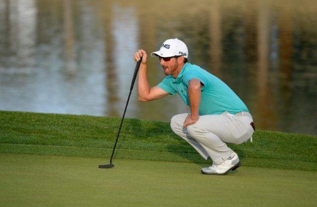 Andrew Landry, in search of his first US PGA Tour title, missed just three greens in regulation and has yet to make a bogey this week at the US PGA CareerBuilder Challenge
