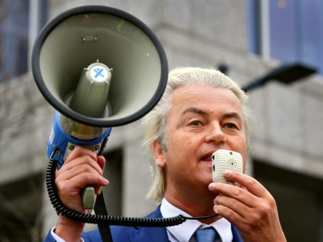 Dutch far-right protest against govt, Islam