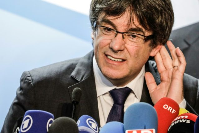 Catalonia's ex-leader Carles Puigdemont fled to Brussels in October