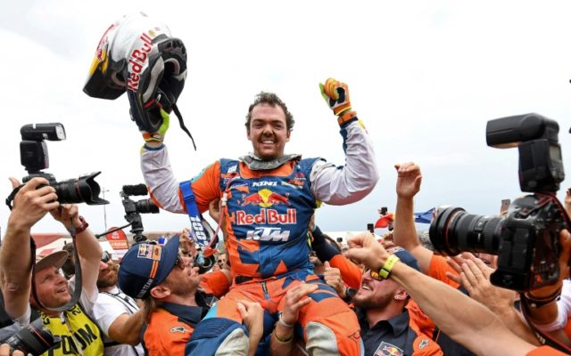 Austrian Walkner seals Dakar bikes title