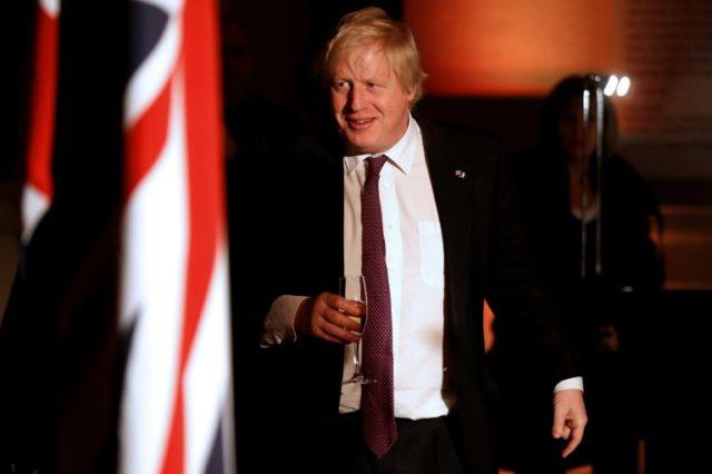 Johnson says UK should welcome Trump