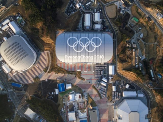 Venues for the 2018 Pyeongchang Winter Olympics in the eastern city of Gangneung, where one of the planned musical concerts is due to be held
