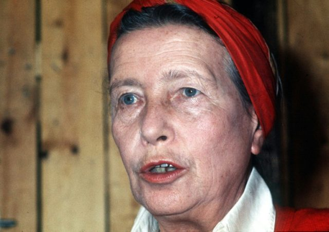 French writer Simone de Beauvoir penned over 100 letters to Clause Lanzmann