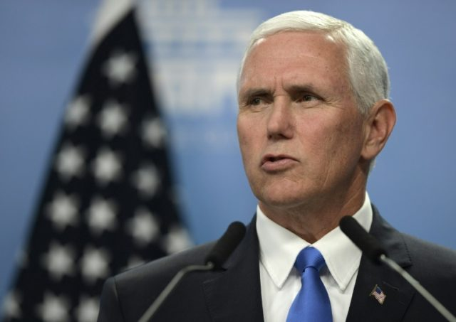 US Vice President Mike Pence's trip to the Middle East was delayed last month because of controversy over plans to move the American embassy in Israel to Jerusalem