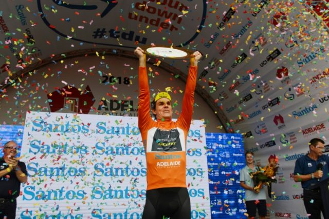 South Africa's Daryl Impey secured the biggest win of his career when he won the Tour Down Under