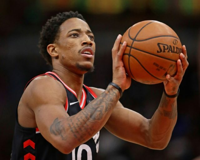 DeMar DeRozan had 21 points, six assists and seven rebounds for the Raptors who improved to 31-13 with a win over the San Antonio Spurs