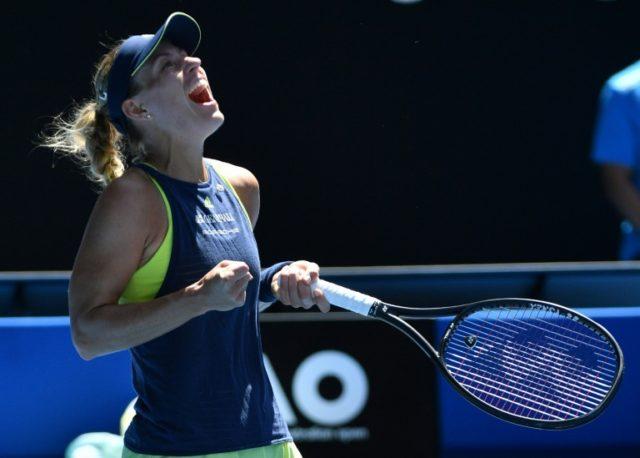 Kerber and Keys set up Australian Open quarter-final as Berdych fires up