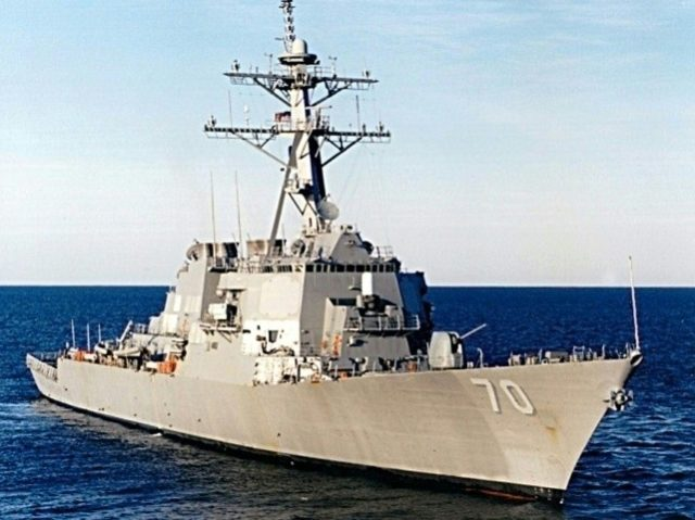 The USS Hopper recently entered the US Navy's 7th Fleet area of operations