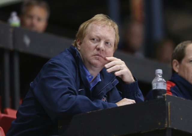 USA Hockey executive Jim Johannson, pictured in 2012, was best known for assembling talented teams for nearly two decades