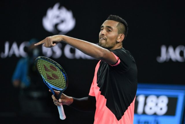 Twelve months ago Australia's Nick Kyrgios was in a bad place after being jeered and accused of giving up, but a year on and he seems to have turned a corner