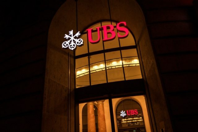 UBS said US tax reforms impacted its earnings in the fourth quarter.
